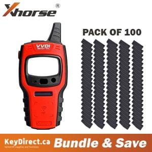Xhorse VVDI MINI Key Tool + 100 Super Chips BUNDLE