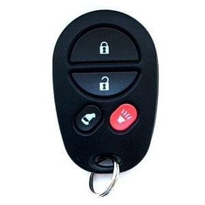 2004-2013 Toyota Sienna / 4-Button Keyless Entry Remote w/ Side Door / PN: 89742-08100 / GQ43VT20T