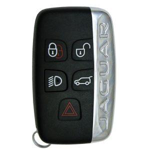 2012 - 2019 Jaguar / 5-Button Smart Key for KOBJTF10A W/ Logo