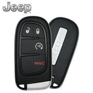 2014-2019 Jeep Cherokee / 4-Button Smart Key / PN: 68105078AC / GQ4-54T (Refurbished)