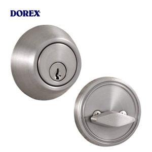 Dorex - 3200 Series Deadbolt Grade 3 / Single Cylinder Weiser Keyway / Satin Nickel