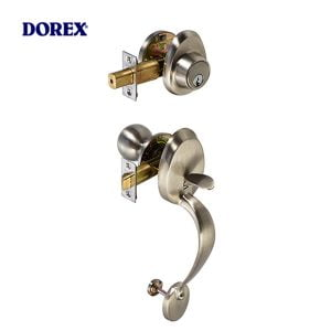 Dorex MANOR Gripset – Satin Nickel – 26D