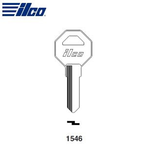 ILCO 1546 Key Blank / Gas Cap Lock