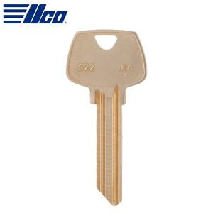 ILCO S22 SARGENT Key Blank / Brass