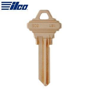 ILCO - SC9 Schlage E Keyway Key Blank / Brass