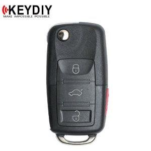 KEYDIY - VW Style / 4-Button Flip Key (KD-B01-3+1)