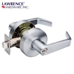 LAWRENCE HARDWARE 5300 SERIES – Classroom Function / US26D LEVER LOCKSET Grade 2 / LH5305