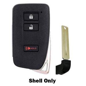 2013-2018 Lexus / 3-Button Smart Key SHELL / HYQ14FBA HYQ14FBB (SKS-LEX-132)
