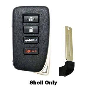 2013-2018 Lexus / 4-Button Smart Key SHELL / HYQ14FBA HYQ14FBB (SKS-LEX-133)