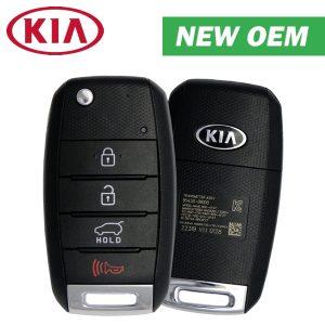 2016-2020 Kia Sportage / 4-Button Flip Key / PN: 95430-D9000 / TQ8-RKE-4F27 / Transponder / Canadian Version (OEM)