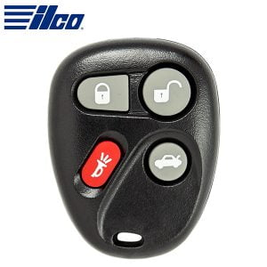 ILCO Look-Alike™ 2000-2007 GM / 4-Button Keyless Entry Remote / PN: 16263074-99