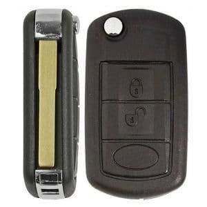 1997-2011 Land Rover / 3-Button Flip Key / NT8-15K6014CFFTXA / (Chip 46) (RFK-LR-4692)