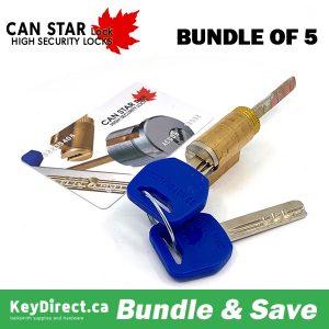 (Bundle of 5) CanStarLock Kik Cylinder