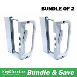 (Bundle of 2) KeyDirect - Hook Patio Lock / No Cylinder