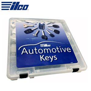 ILCO - Look-Alike™ Clonable Transponder Key Package (5 GTI Chips, 7 Shells)