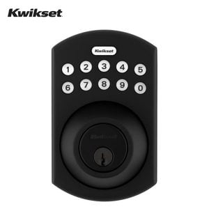 Kwikset - 264 Traditional Electronic Deadbolt / Keypad (Iron Black)