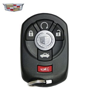 2005-2007 Cadillac STS / 5-Button Keyless Entry Remote / PN: 15212382 / M3N65981403 (Refurbished)