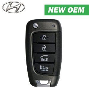 2017-2019 Hyundai Elantra GT / 4-Button Flip Key / PN: 95430-G3000 / OSLOKA-450T / Canadian Version (OEM)