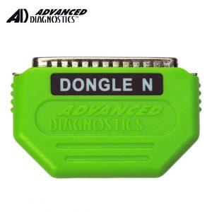 "Advanced Diagnostics - ADC197 Honda PROX Lime Green ""N"" Dongle ( TT0038XXXX)"