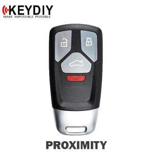 KEYDIY - Audi Style 4-Button Universal Smart Key w/ Proximity Function (KD-ZB26-4)