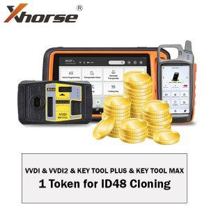 XHorse - One Token for ID48 Cloning / For VVDI, VVDI2, Key Tool Max & Key Tool Plus