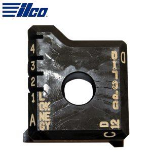 Ilco - 02V Clamp For ASSA Long Keys DP / CLIQ / D-12 / For Futura Pro Key Machine / D743271ZB (BJ0952XXXX)