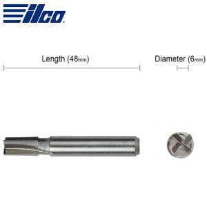 ILCO - 5.95mm Tubular Cutter For Crown Key Cutting Machines / D700077ZB (BC0495XXXX)