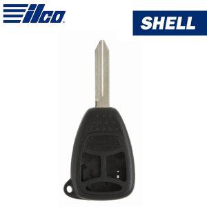 ILCO - Chrysler 3-Button Remote Head Key Shell / CHRY-3B2