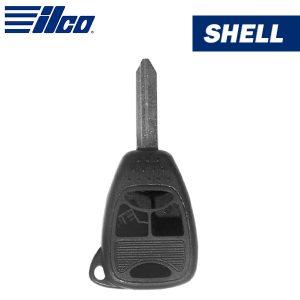 ILCO - Chrysler 4-Button Remote Head Key Shell / CHRY-4B1