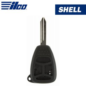 ILCO - Chrysler 4-Button Remote Head Key Shell / CHRY-4B2