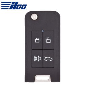 Ilco – Smart4Car™ Honda / Nissan - Integrated Flip Key Housing with Transponder / T-4B-PS-8 / IRKEHF-PS
