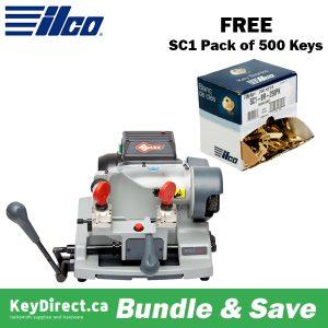 ILCO Virtual Van Sale - BUY Speed 044 Semi-Automatic Key Cutting Machine GET FREE FREE 500 SC1 Keys
