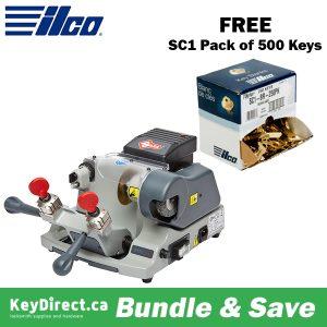 ILCO Virtual Van Sale - BUY Speed 046 Manual Key Duplicator Machine GET FREE 500 SC1 Keys