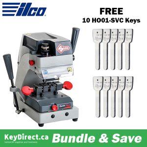 ILCO Virtual Van Sale - Swift Plus Laser Duplicating Machine GET FREE 10 HO01-SVC Keys